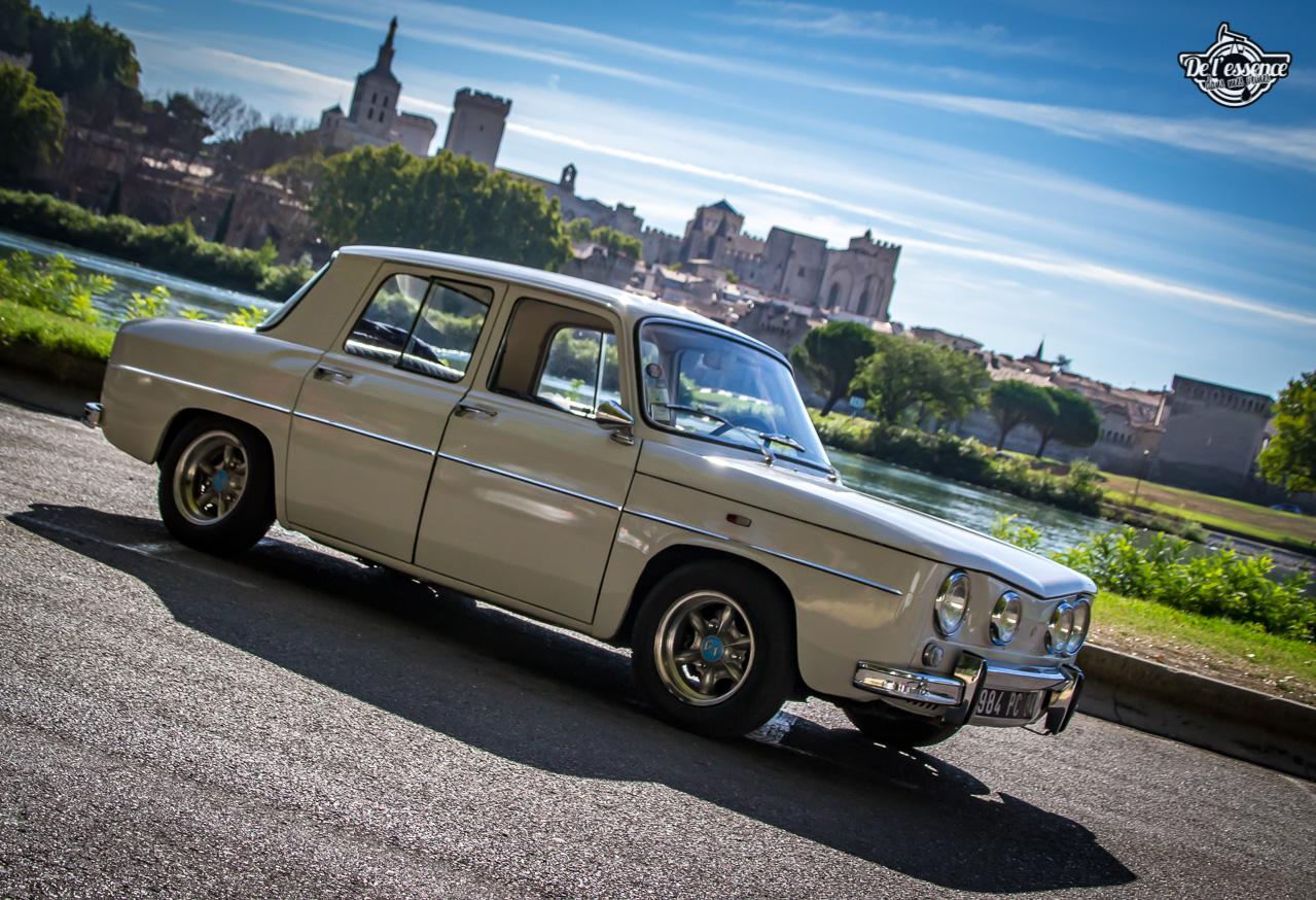 '67 R8 Gordini 1300 blanche... oui, blanche. 1