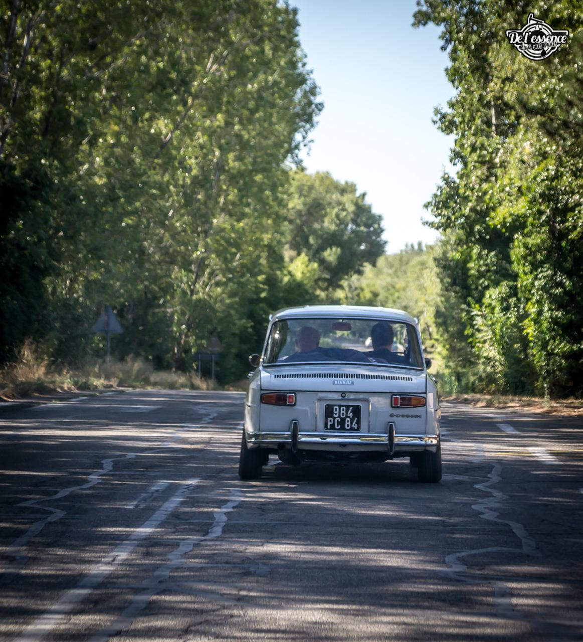 '67 R8 Gordini 1300 blanche... oui, blanche. 2