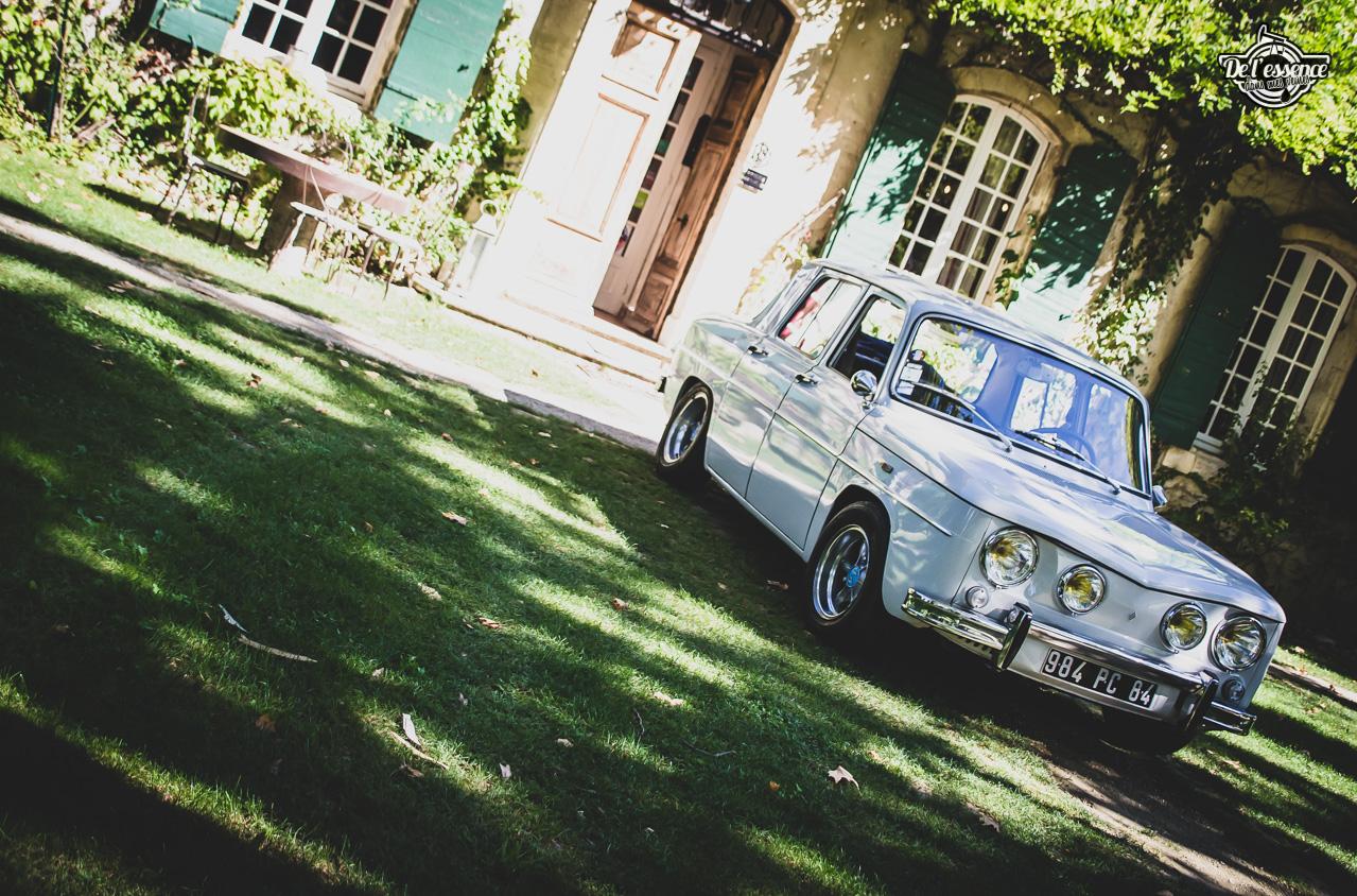 '67 R8 Gordini 1300 blanche... oui, blanche. 5