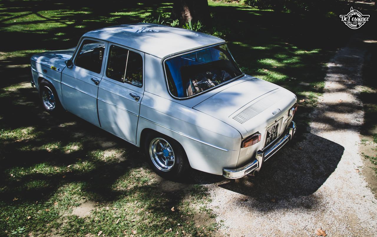 '67 R8 Gordini 1300 blanche... oui, blanche. 3