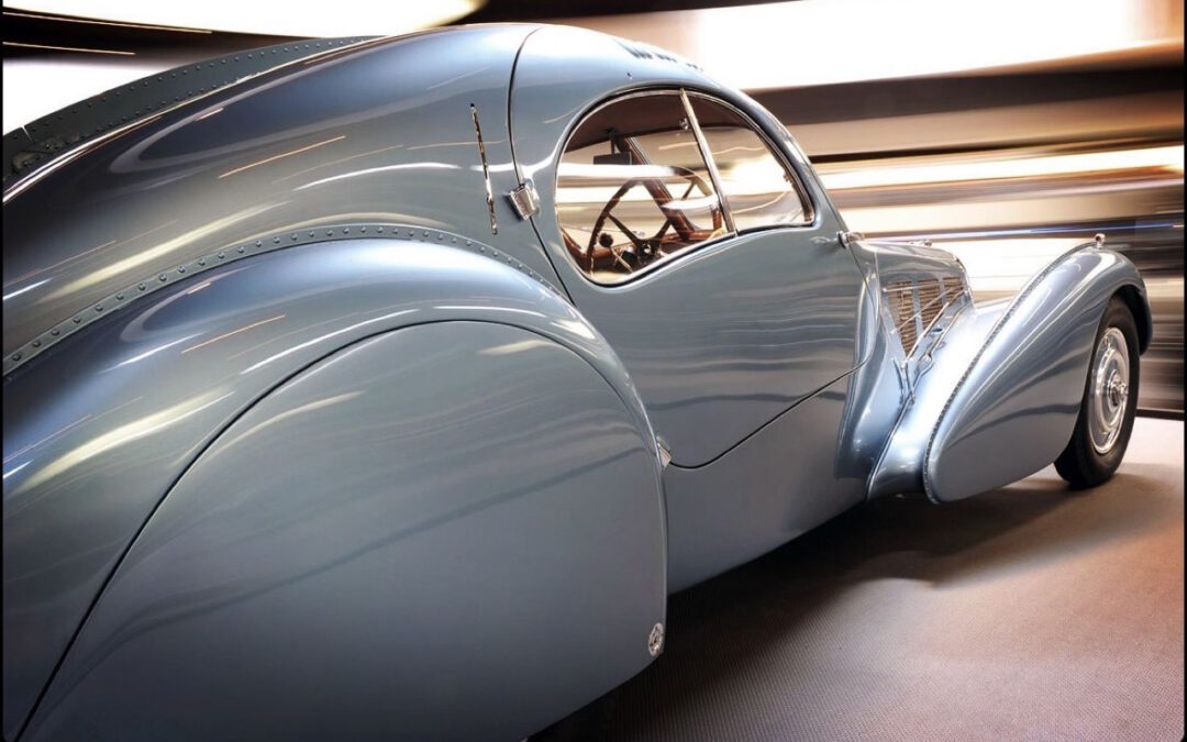 Bugatti Type 57 Aérolithe… ou appelez la Atlantic