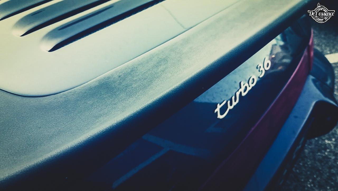 Porsche 964 Turbo 3.6... La grenouille et l'escargot ! 1