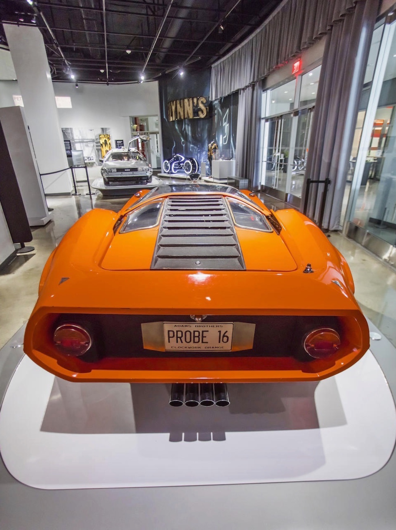 '69 Adams Brothers Probe 16... Orange mécanique ! 4