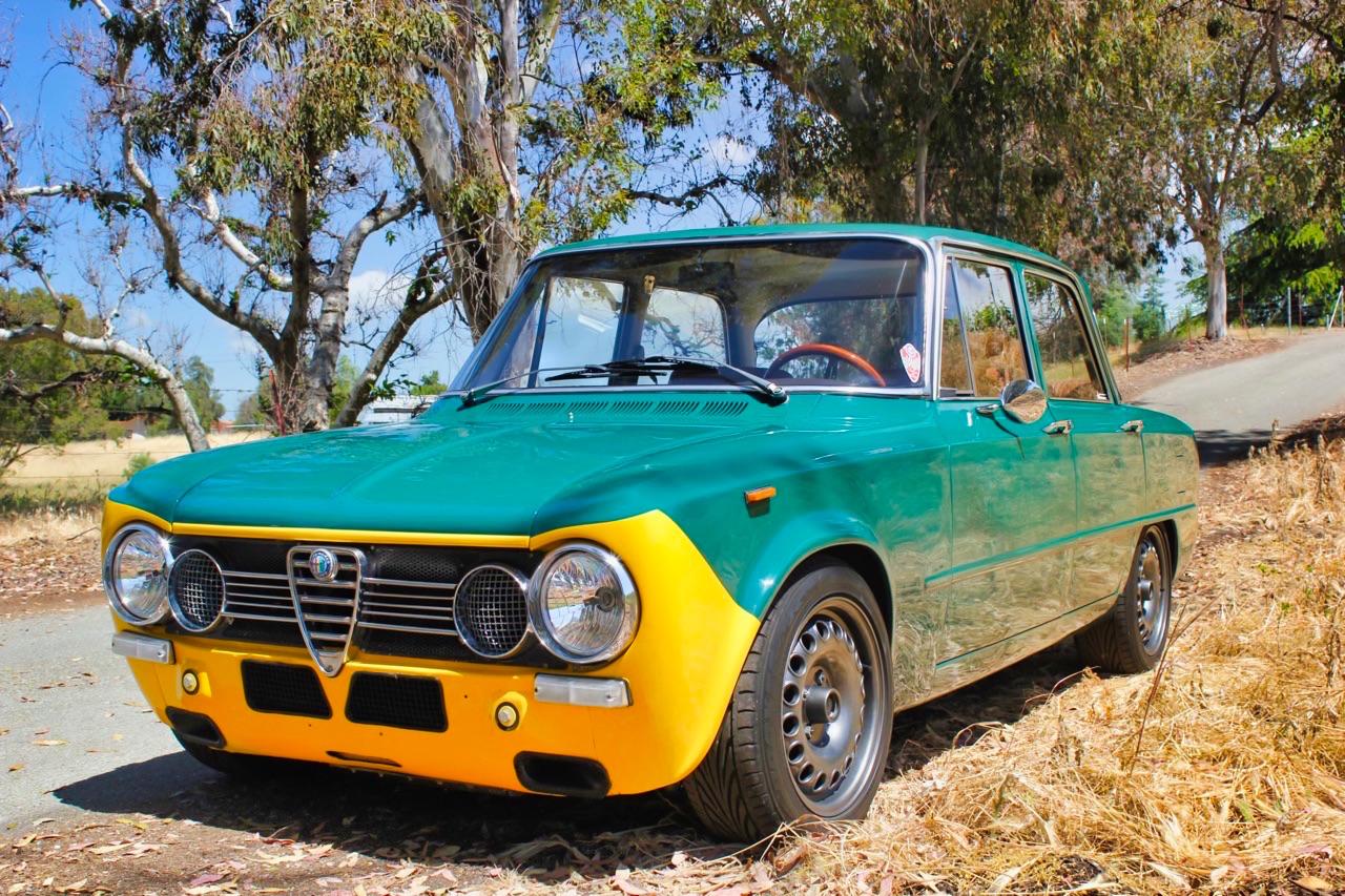 '72 Alfa Giulia Super - Restomod al dente ! 2
