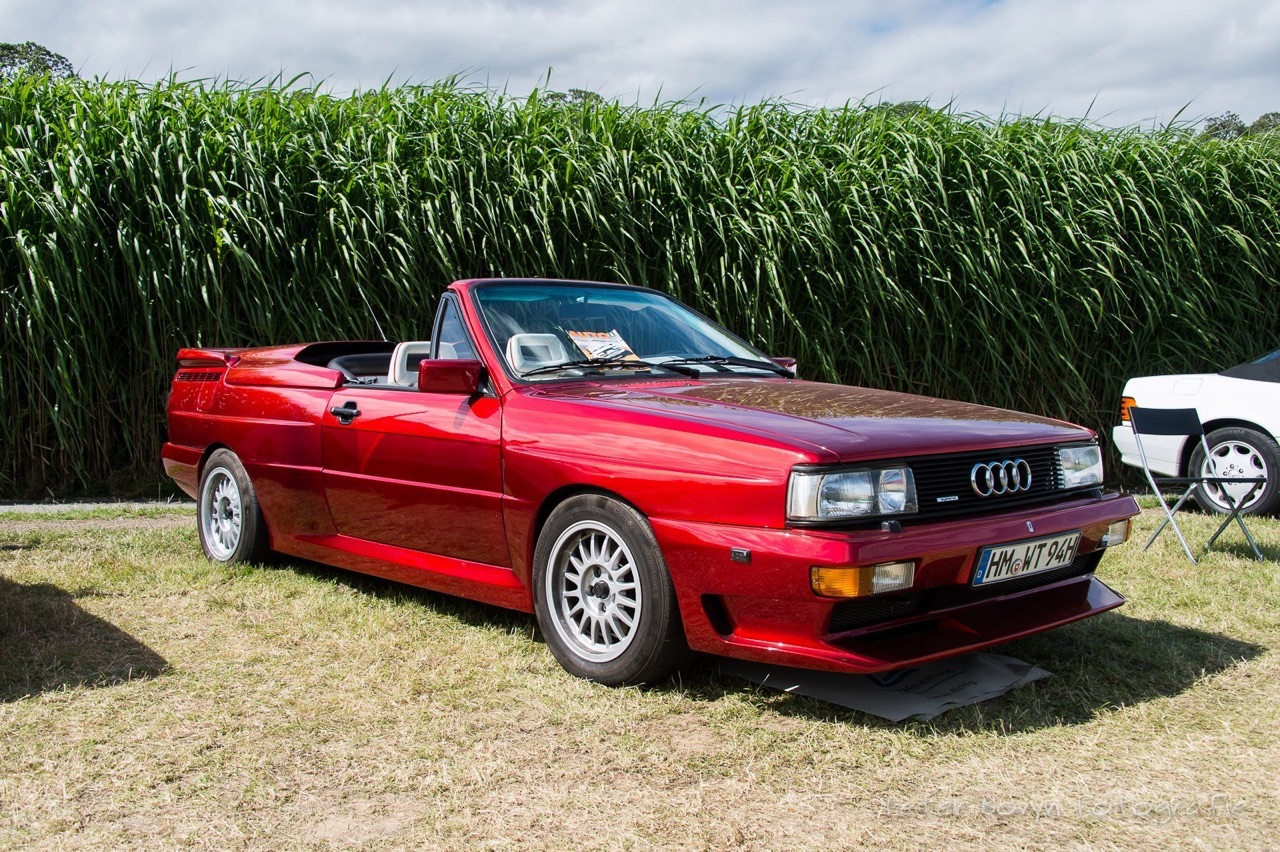 Audi Quattro Roadster by Treser - Back to the 80's 16