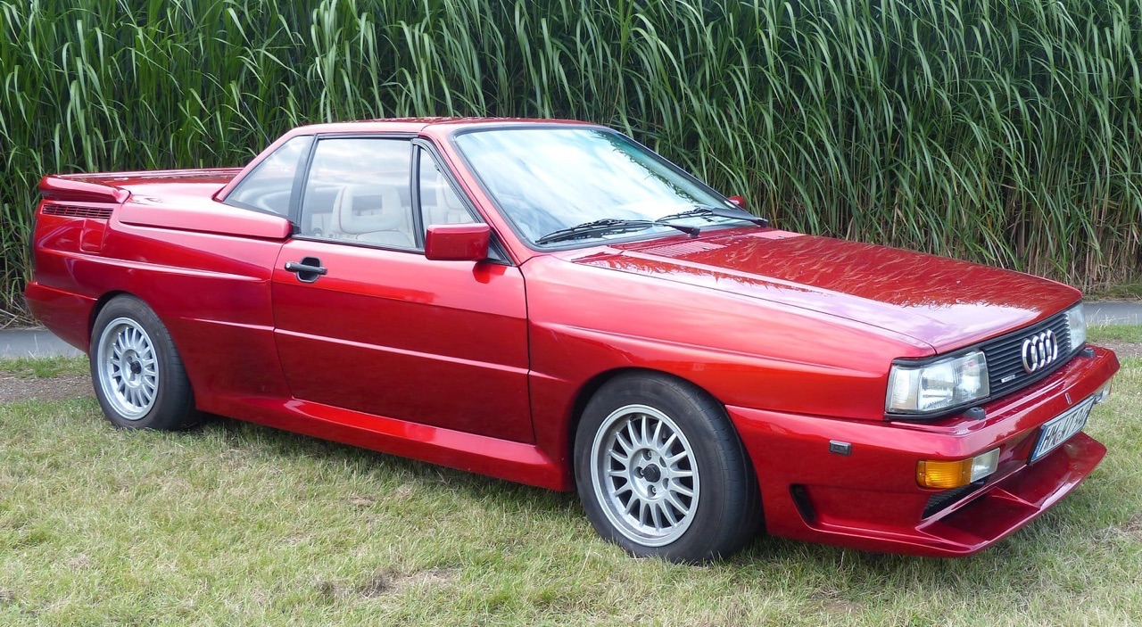 Audi Quattro Roadster by Treser - Back to the 80's 15