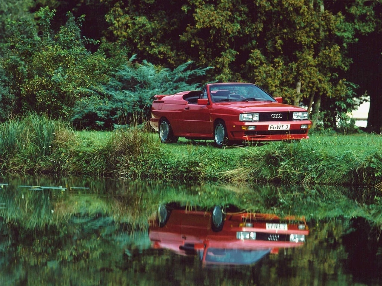 Audi Quattro Roadster by Treser - Back to the 80's 2