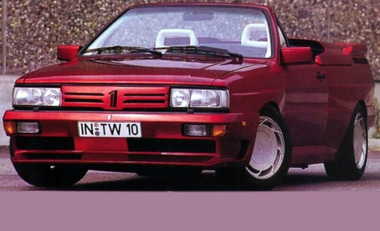 Audi Quattro Roadster by Treser - Back to the 80's 12