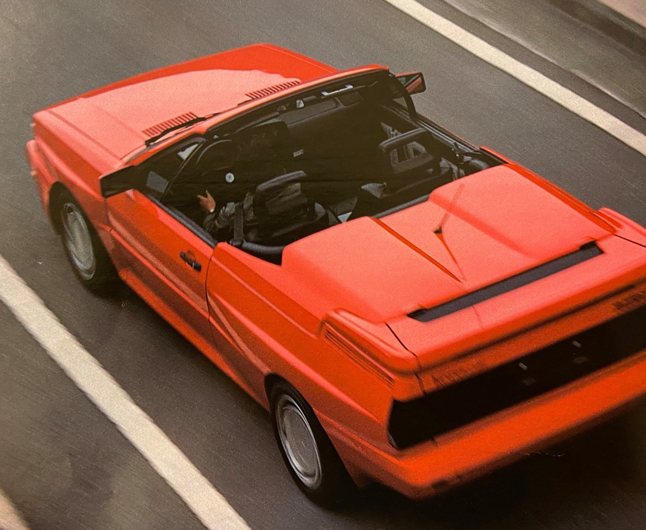 Audi Quattro Roadster by Treser - Back to the 80's 8
