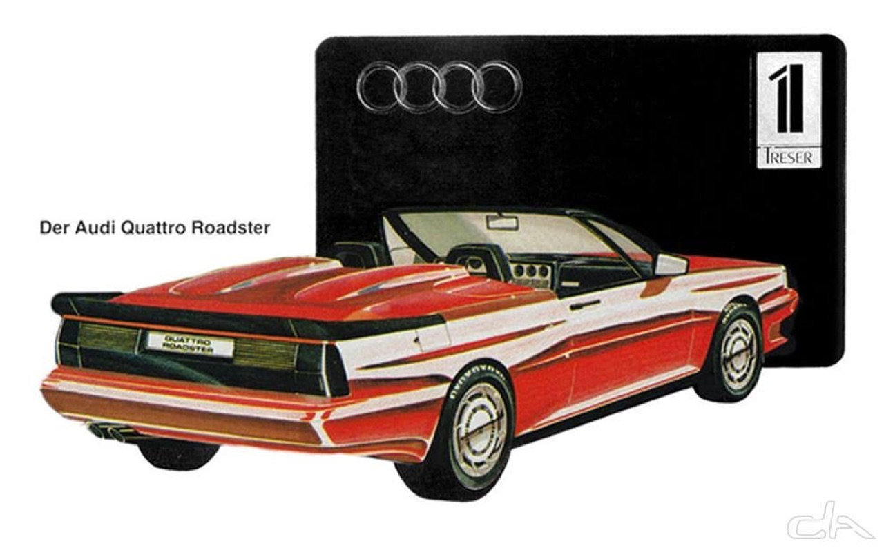 Audi Quattro Roadster by Treser - Back to the 80's 1
