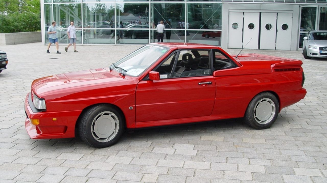 Audi Quattro Roadster by Treser - Back to the 80's 5