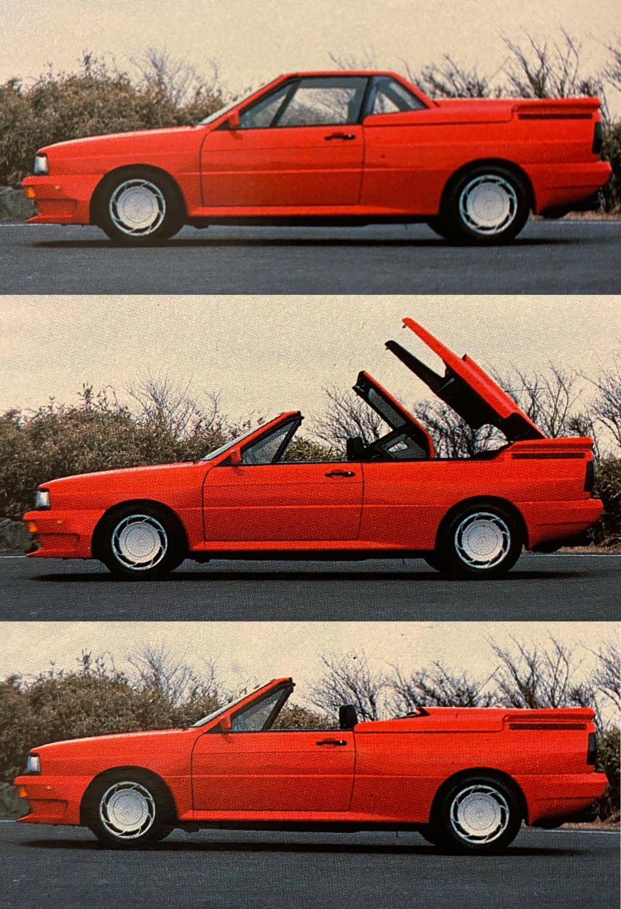Audi Quattro Roadster by Treser - Back to the 80's 4
