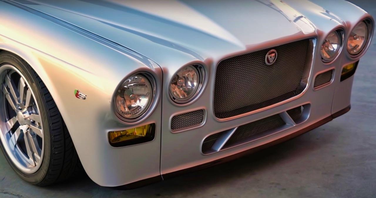 '70 Jaguar XJ6 V8 Big Block... 1000 ch pour la Reine Mère ! 12