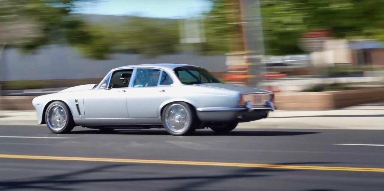 '70 Jaguar XJ6 V8 Big Block... 1000 ch pour la Reine Mère ! 6