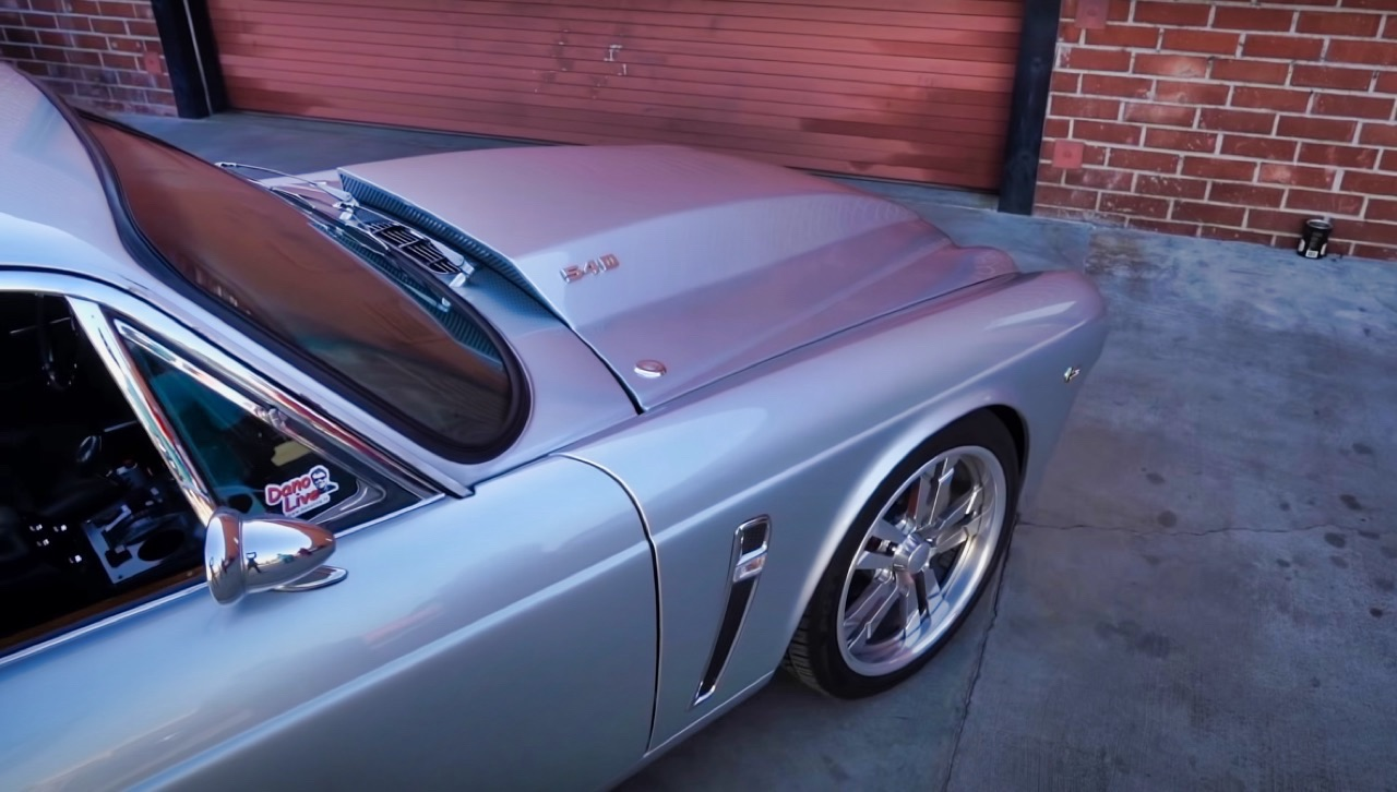 '70 Jaguar XJ6 V8 Big Block... 1000 ch pour la Reine Mère ! 3