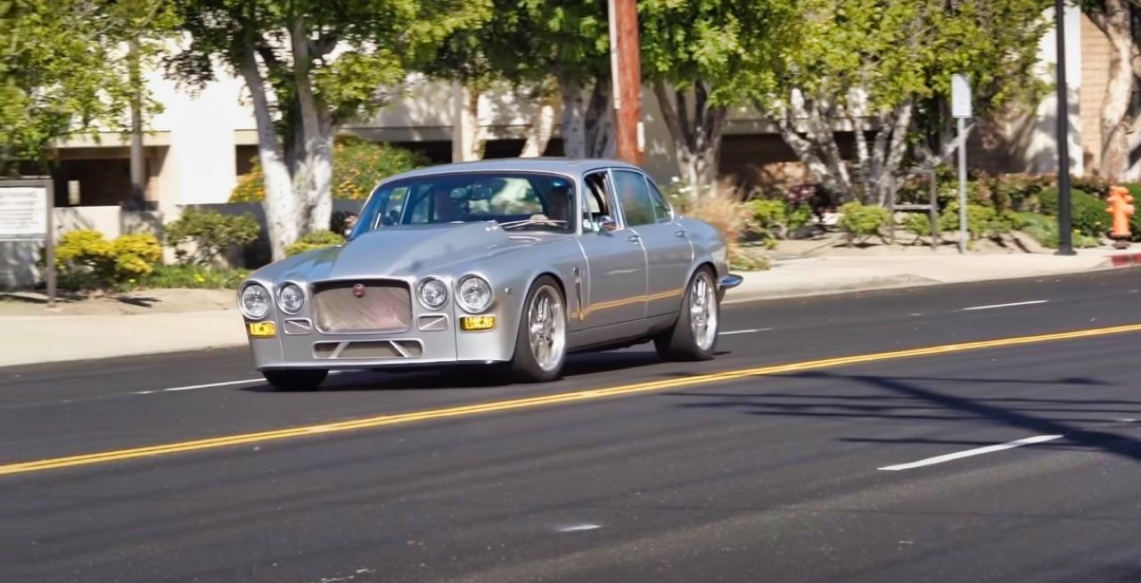 '70 Jaguar XJ6 V8 Big Block... 1000 ch pour la Reine Mère ! 5