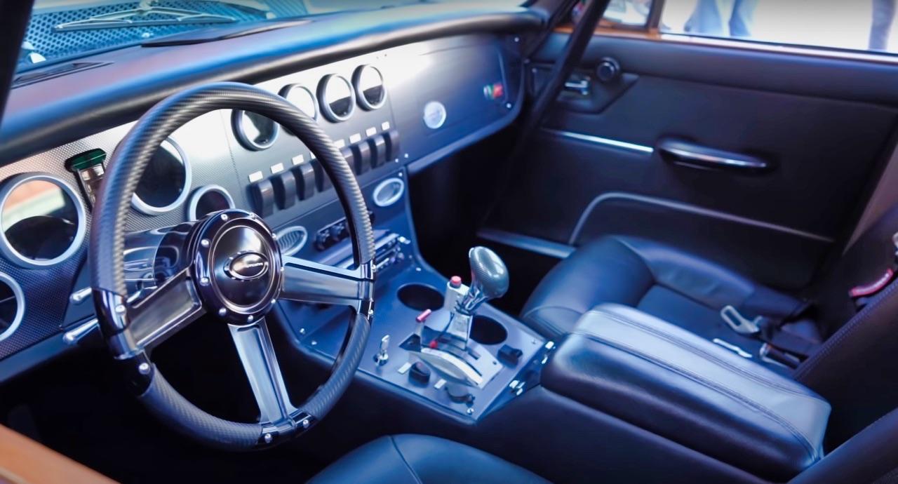 '70 Jaguar XJ6 V8 Big Block... 1000 ch pour la Reine Mère ! 14