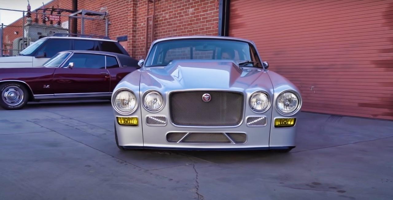 '70 Jaguar XJ6 V8 Big Block... 1000 ch pour la Reine Mère ! 2