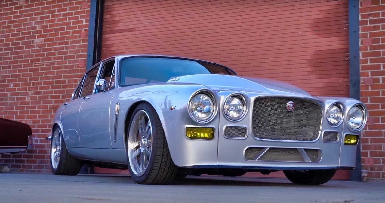 '70 Jaguar XJ6 V8 Big Block... 1000 ch pour la Reine Mère ! 1