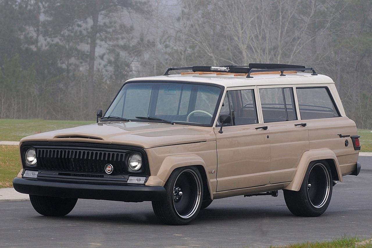 '66 Jeep Wagoneer restomod... Pour se réconcilier avec les SUV ! 10