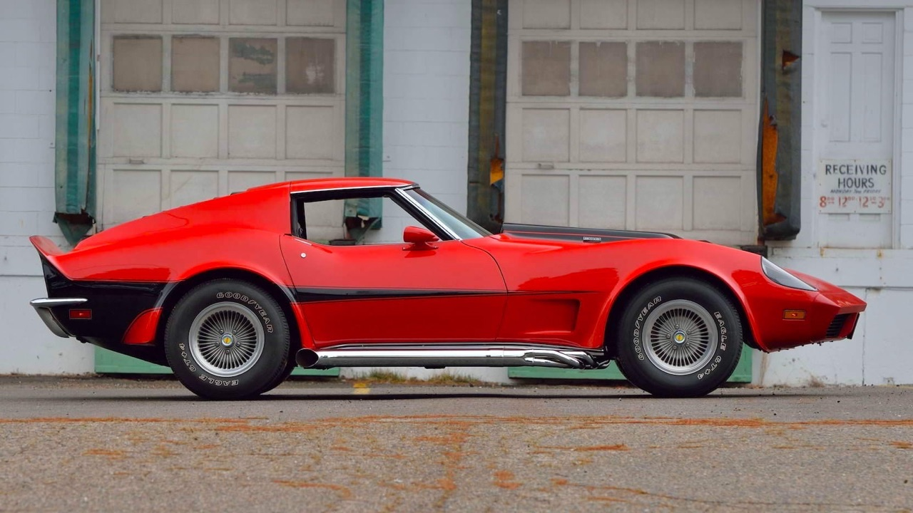 '73 Motion Manta Ray GT - Corvette sur mesure... 7