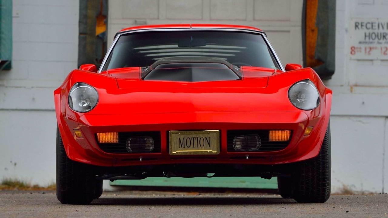 '73 Motion Manta Ray GT - Corvette sur mesure... 2