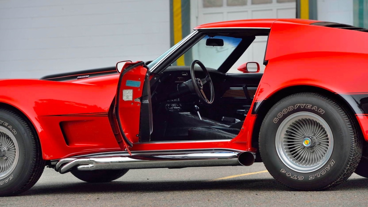 '73 Motion Manta Ray GT - Corvette sur mesure... 10