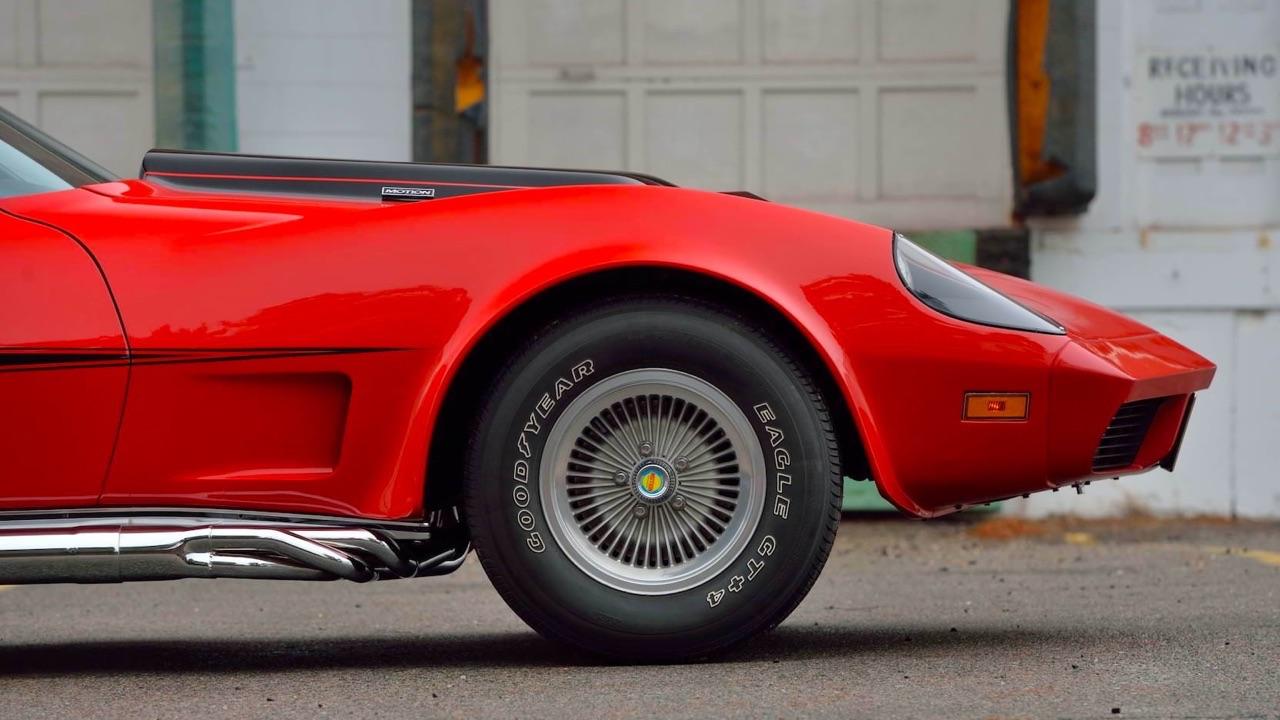 '73 Motion Manta Ray GT - Corvette sur mesure... 11