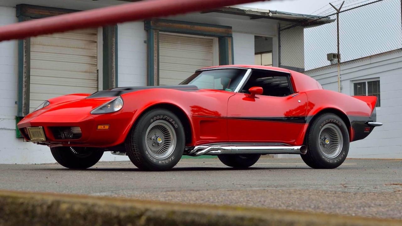 '73 Motion Manta Ray GT - Corvette sur mesure... 6