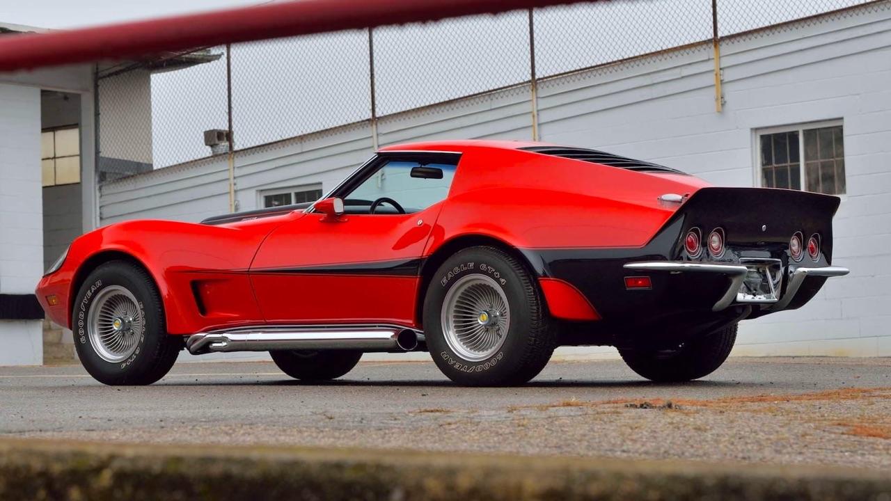 '73 Motion Manta Ray GT - Corvette sur mesure... 5