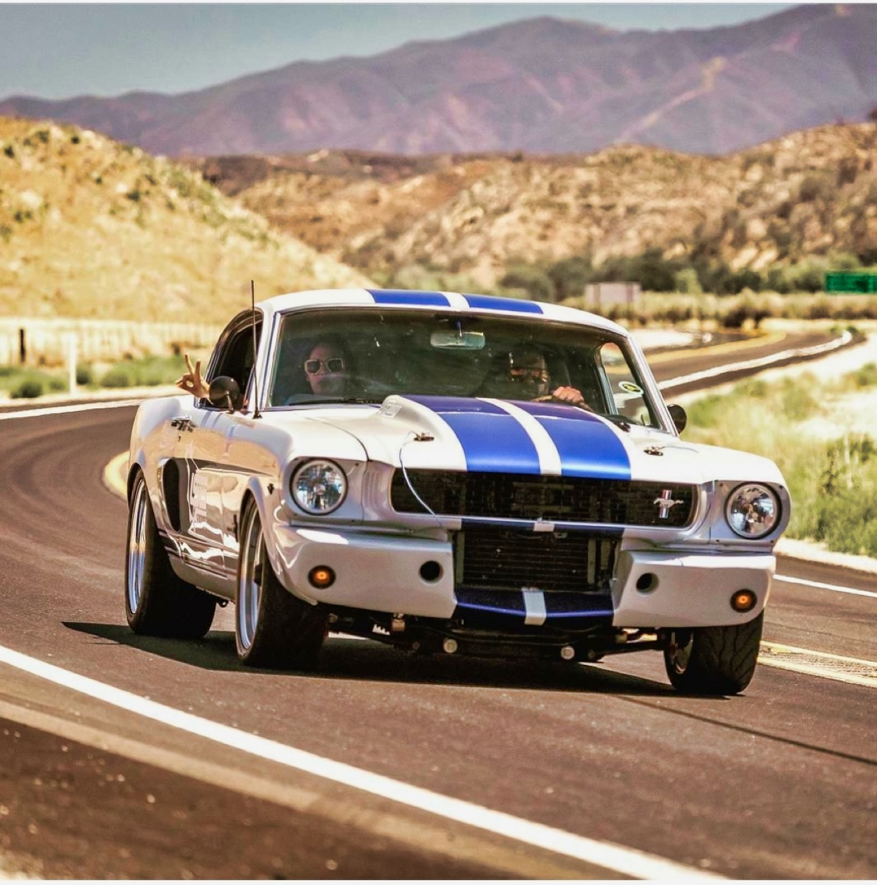 '66 Ford Mustang Fastback - Le gros Coyote ! 12