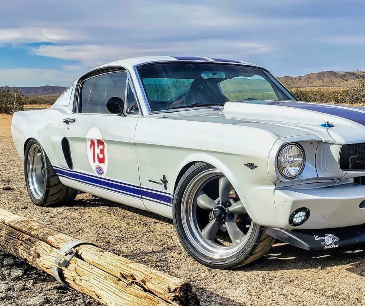 '66 Ford Mustang Fastback - Le gros Coyote ! 1