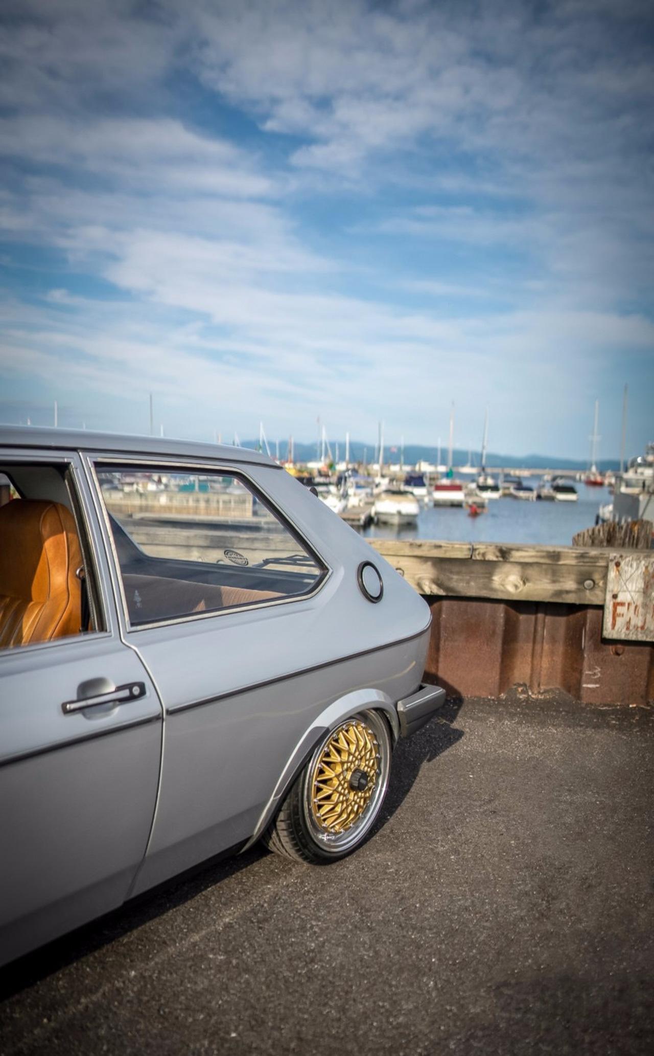 '79 VW Polo airride... Un 4 cylindres au pays des V8 ! 4