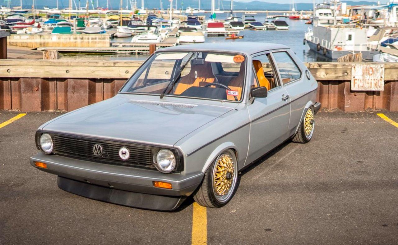 '79 VW Polo airride... Un 4 cylindres au pays des V8 ! 1
