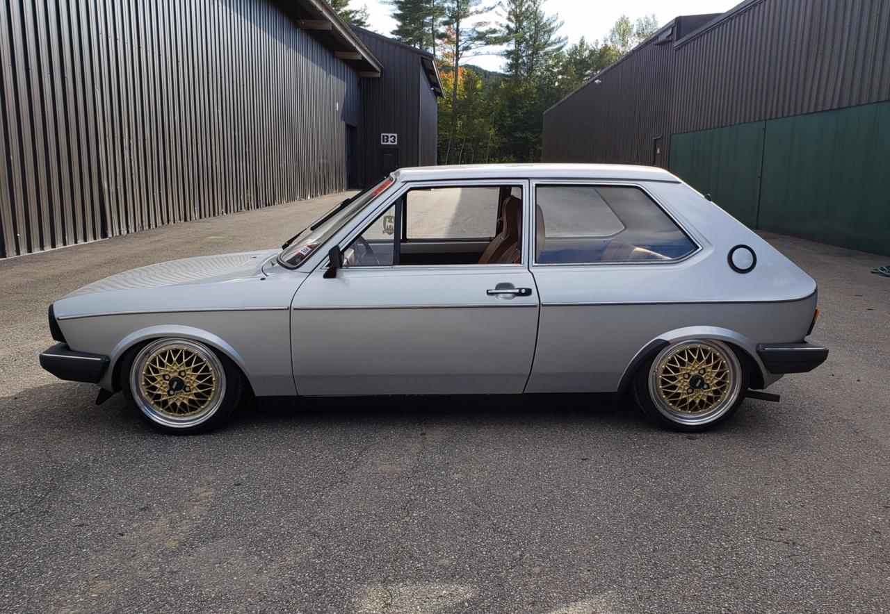 '79 VW Polo airride... Un 4 cylindres au pays des V8 ! 2