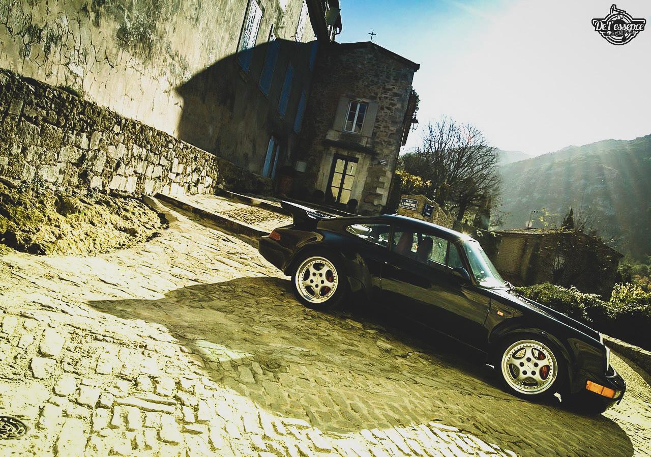 Porsche 964 Turbo 3.6... La grenouille et l'escargot ! 12