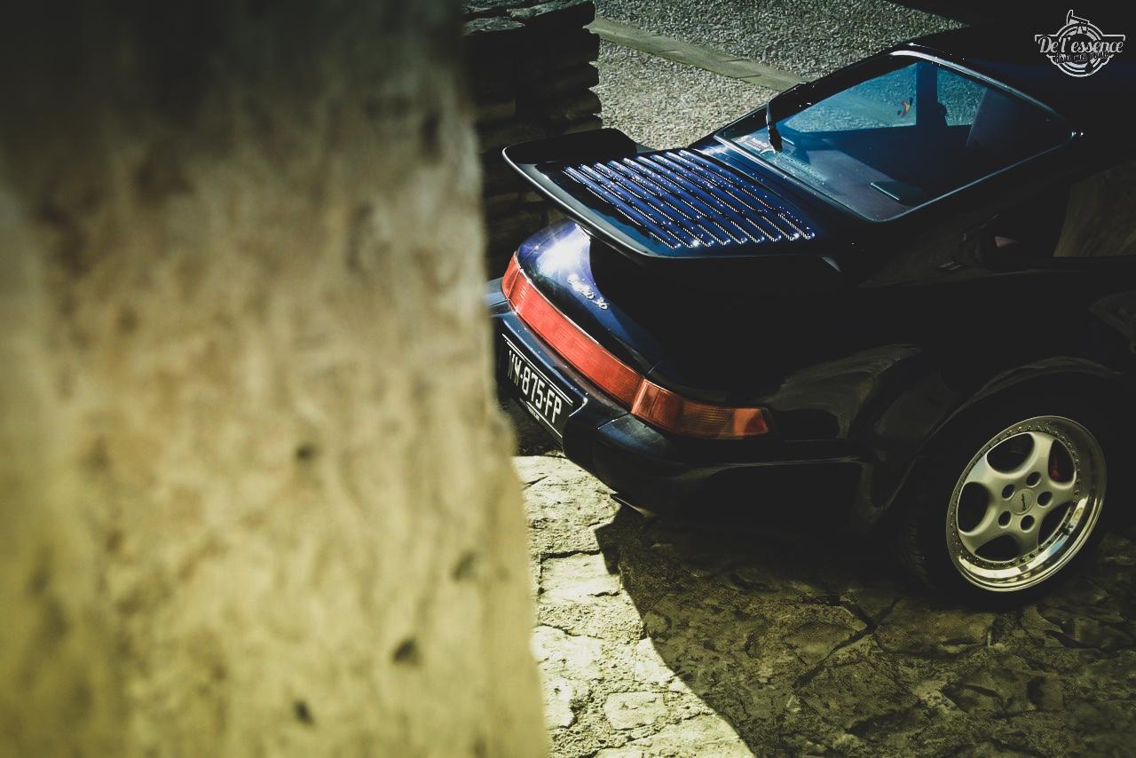 Porsche 964 Turbo 3.6... La grenouille et l'escargot ! 9