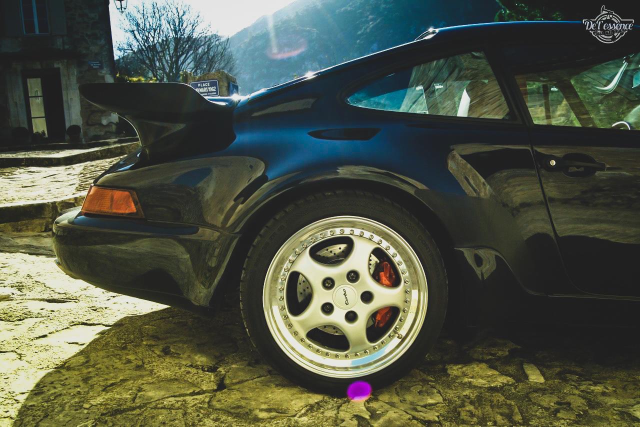Porsche 964 Turbo 3.6... La grenouille et l'escargot ! 7