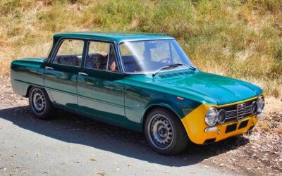 '72 Alfa Giulia Super – Restomod al dente !