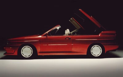 Audi Quattro Roadster by Treser – Back to the 80's