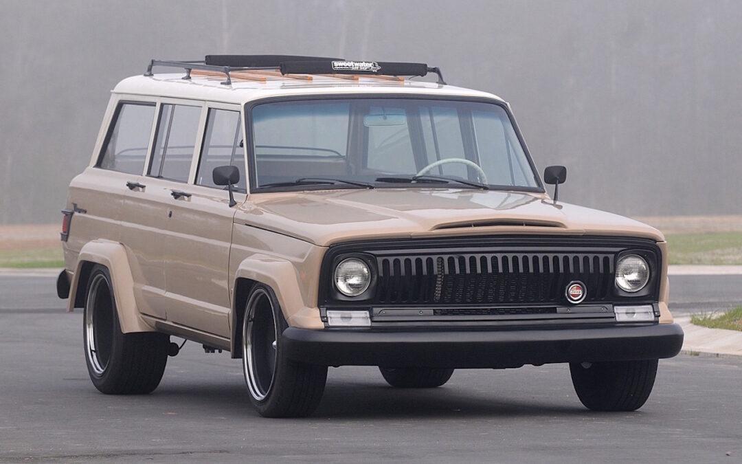 '66 Jeep Wagoneer restomod… Pour se réconcilier avec les SUV !
