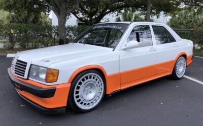 Mercedes 190 3.2 l – Track mode…