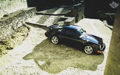 Porsche 964 Turbo 3.6… La grenouille et l'escargot !