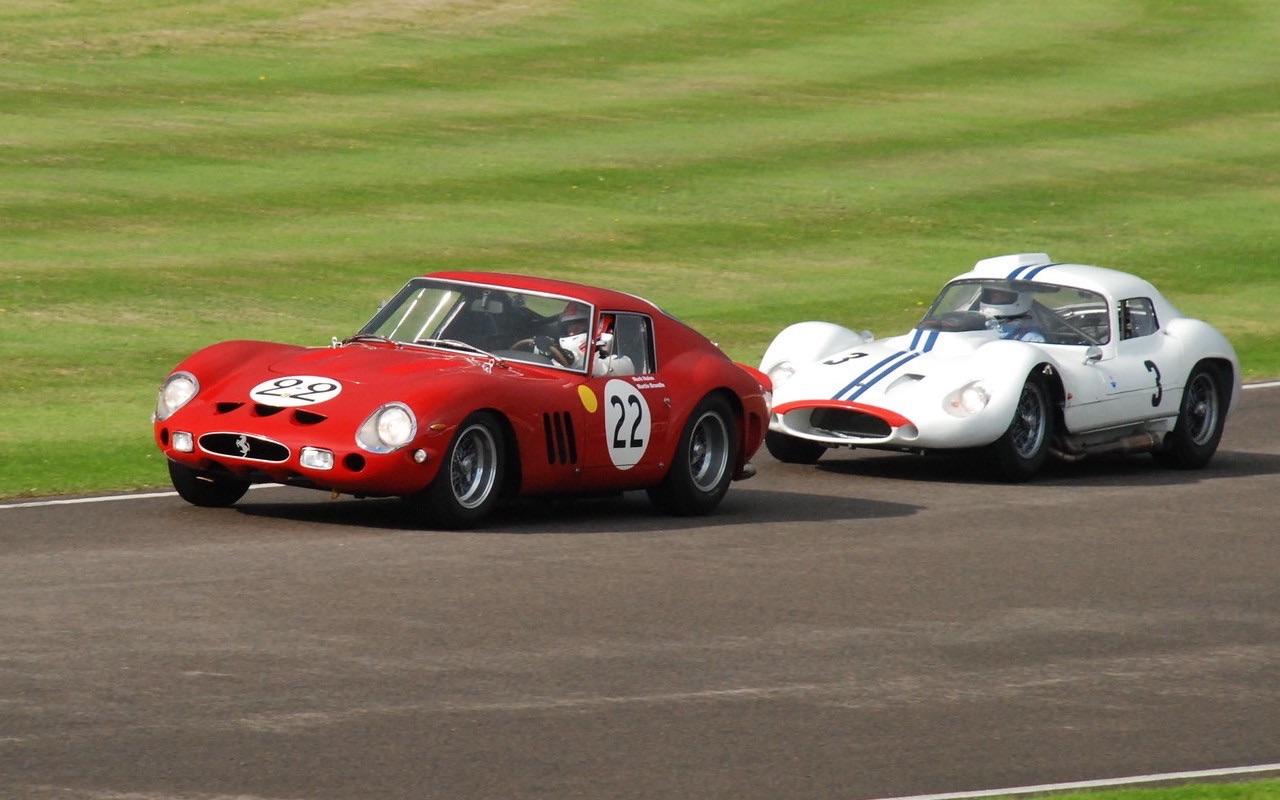 Ferrari 250 GTO vs Maserati Tipo 151 : Battle à Goodwood 1