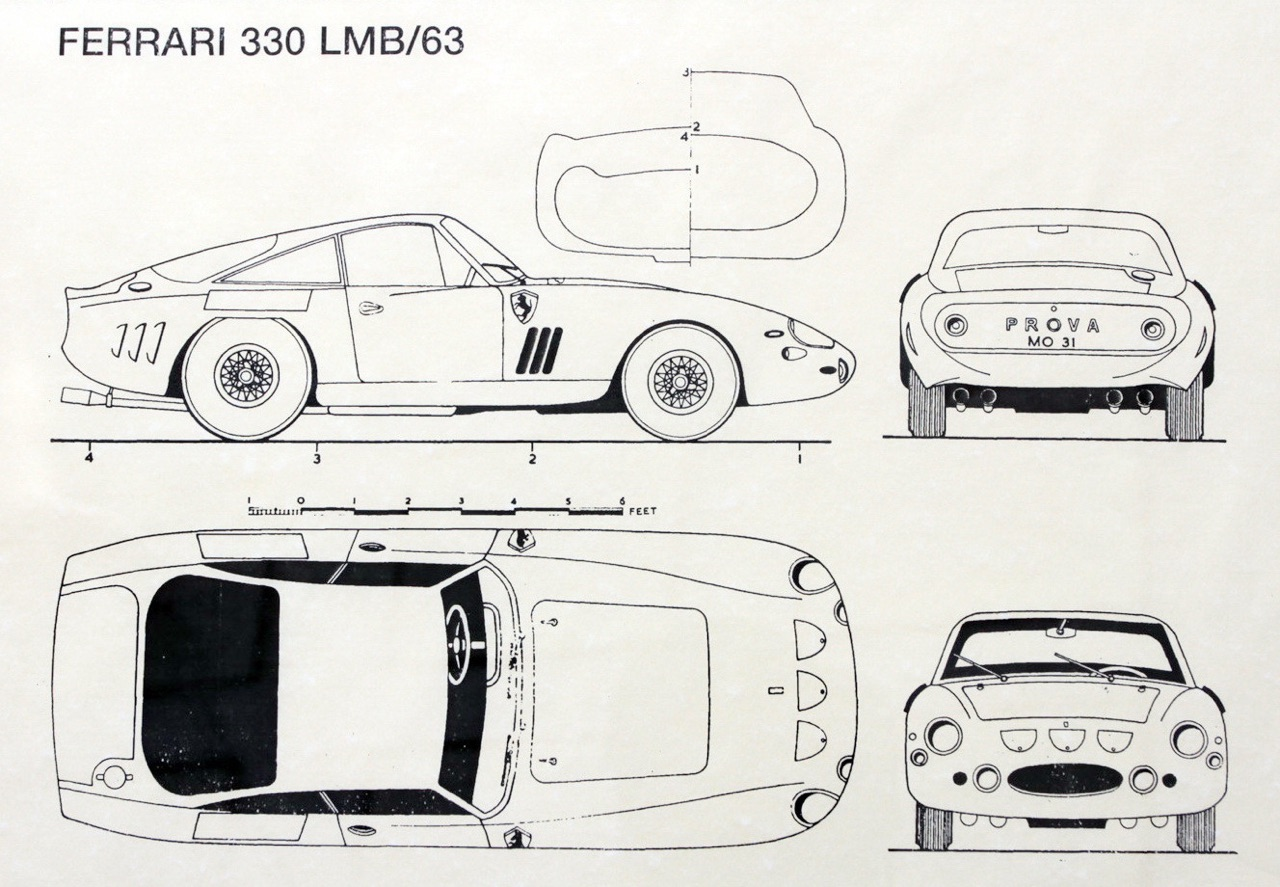 '63 Ferrari 330 LMB... Une histoire de vieux ! 1