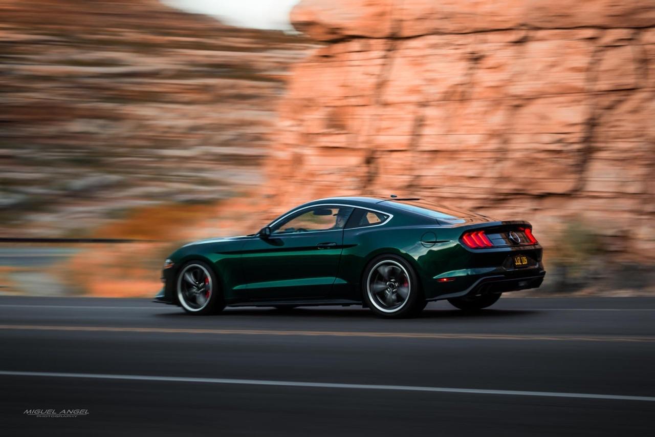 Ford Mustang Bullitt... Steve McQueen Edition - The queen of cool ! 5