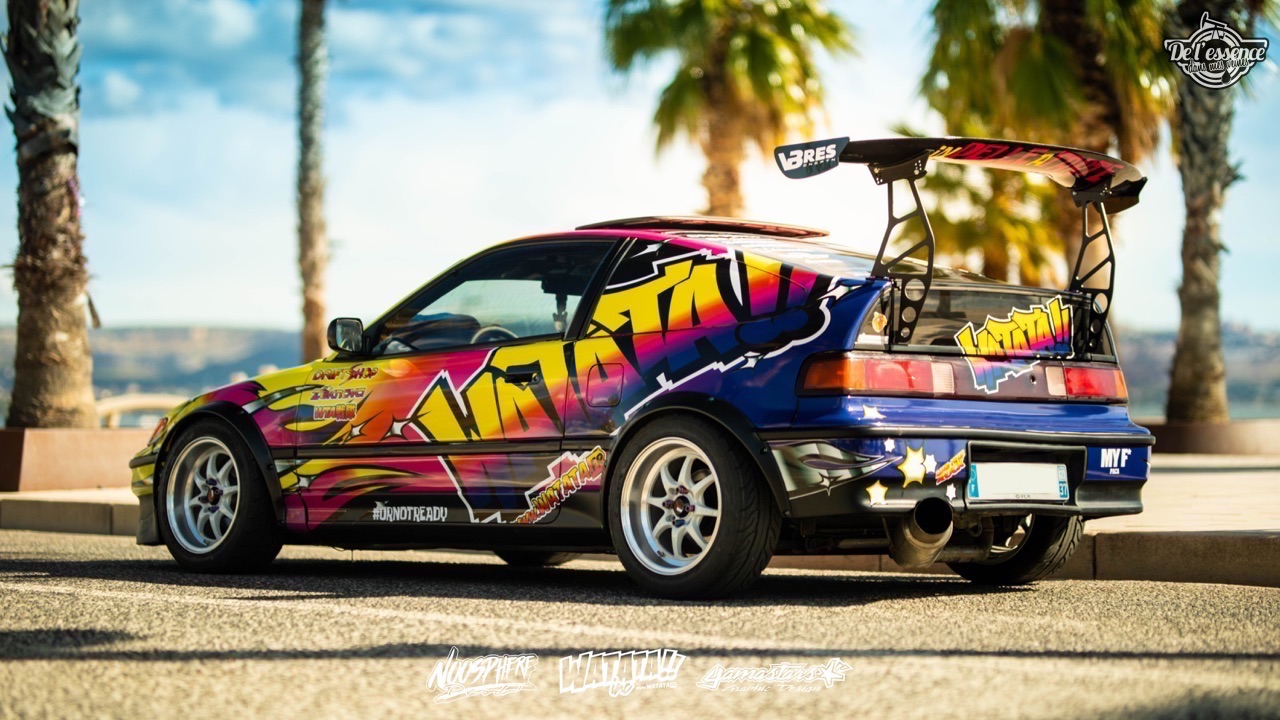 Watata Honda CRX ED9 - No serious ! 8