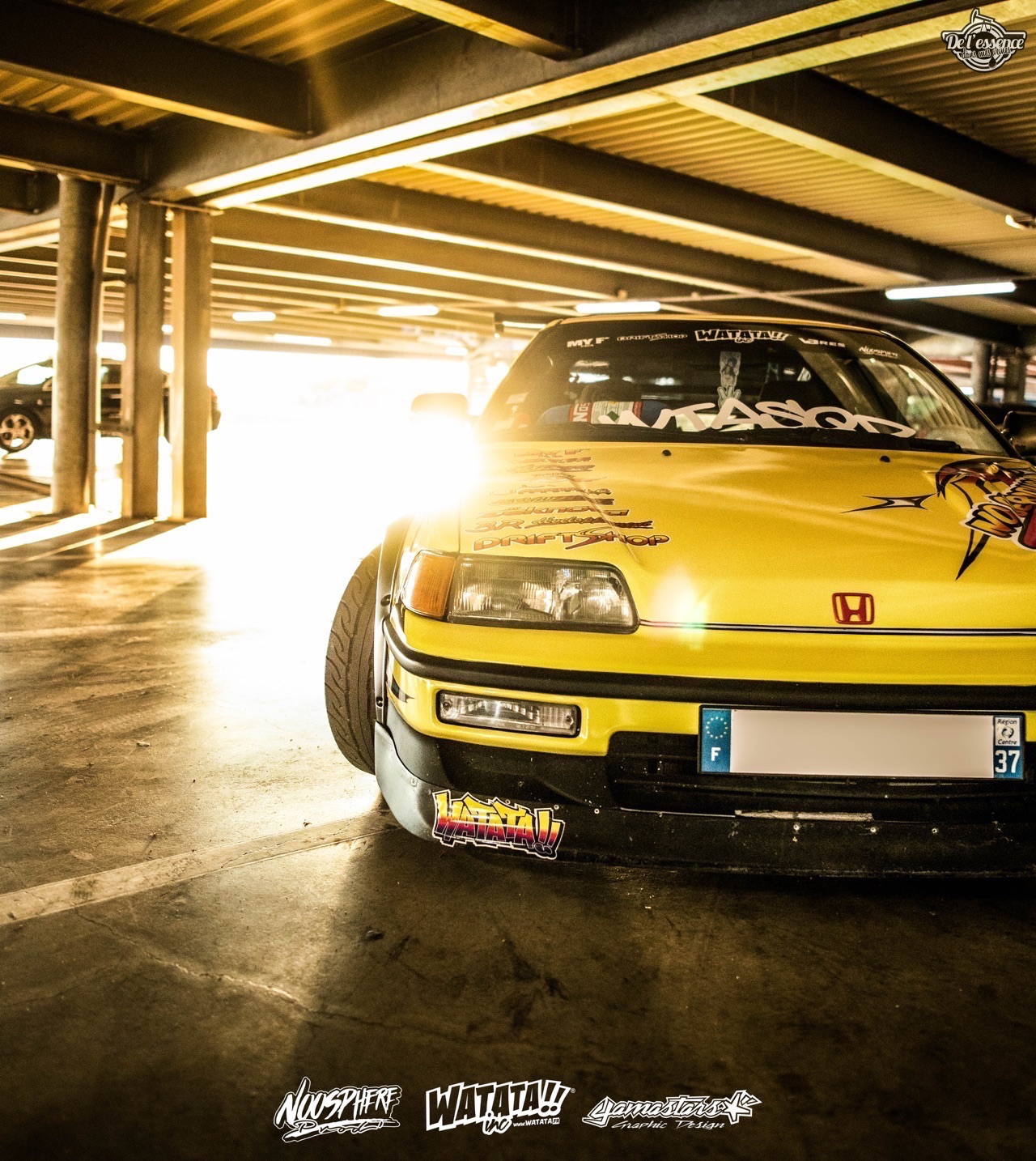 Watata Honda CRX ED9 - No serious ! 4