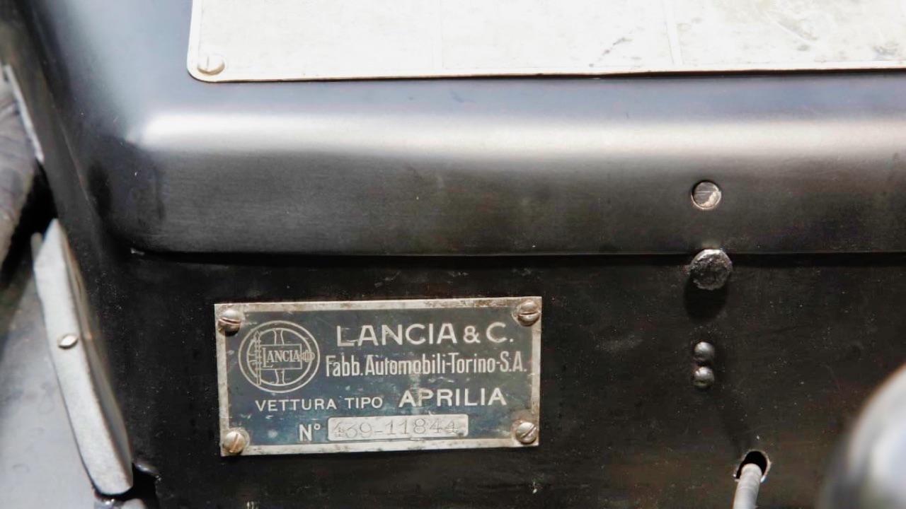 '46 Lancia Aprilia Pininfarina Convertible : Solo uno ! 4