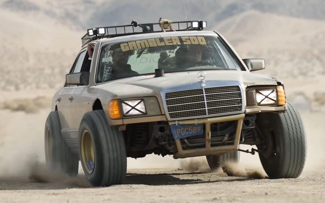 Mercedes Classe S W126 – Desert Storm